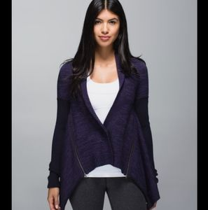 Lululemon Wrap It Up Sweater Merino Wool